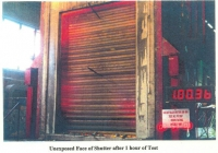thumbs fire rated shutter unexposed after 1 hours Fire Rated Roller Shutters